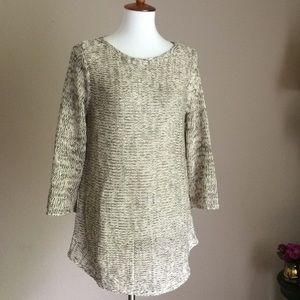Eileen Fisher Organic Linen Cotton Knit Pullover